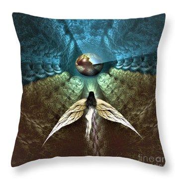 Celestial Cavern Throw Pillow