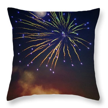 Celestial Celebration  Throw Pillow