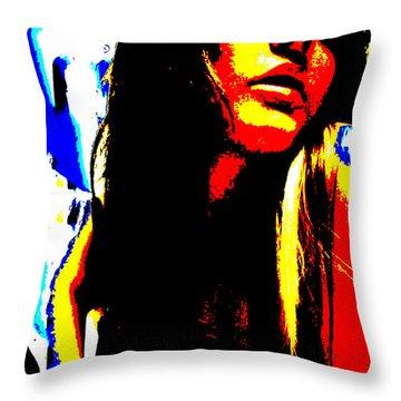 Celestial Engergy Throw Pillow by Jimi Bush