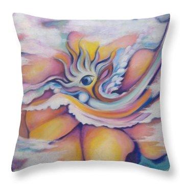 Celestial Eye Throw Pillow