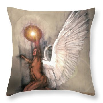 Celestial Glory Throw Pillow by Michael Durst