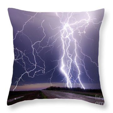 Celestial Hammer Throw Pillow
