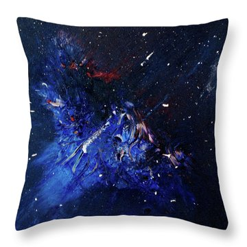Celestial Harmony Throw Pillow