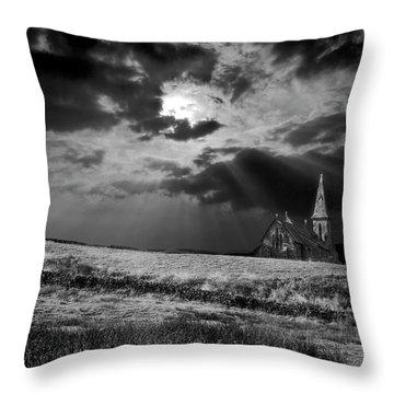 Celestial Lighting Throw Pillow by Meirion Matthias