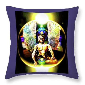 Celestial  Realms . . .  Throw Pillow