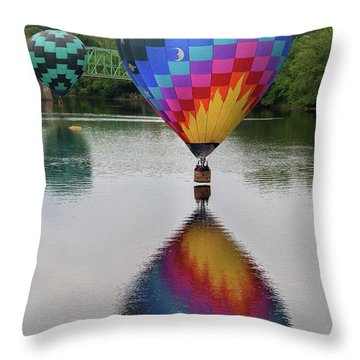 Celestial Reflections Throw Pillow