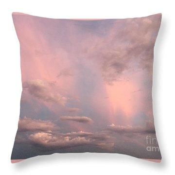 Throw Pillow featuring the photograph Celestial Sky by Paula Guttilla