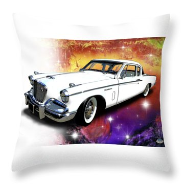 Celestial Studebaker Throw Pillow