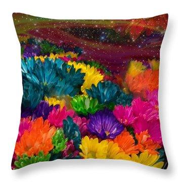Celestial  Summer  Throw Pillow