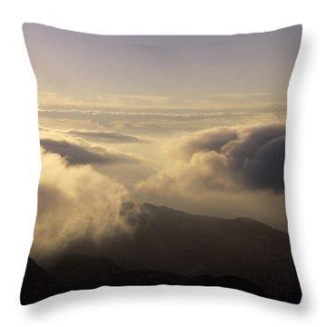 Celestial Wanderers Throw Pillow by Konstantin Dikovsky