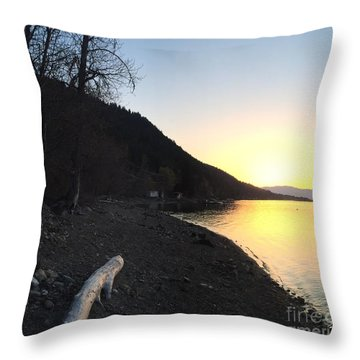 Celista Sunrise 1 Throw Pillow