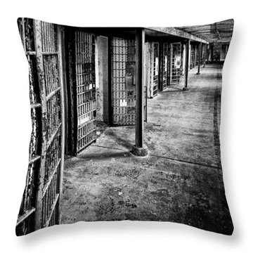 Cellblock No. 9 Throw Pillow