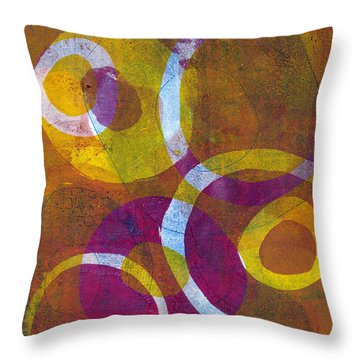 Cells 2 Throw Pillow