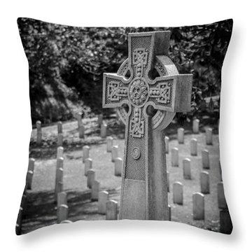 Celtic Grave Throw Pillow