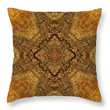 Celtic Mandala Abstract Throw Pillow