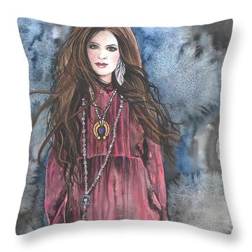Celtic Pride Throw Pillow by Kim Sutherland Whitton