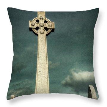 Celtic Sanctuary Throw Pillow