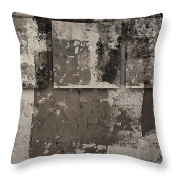 Cement Squares Number One Throw Pillow