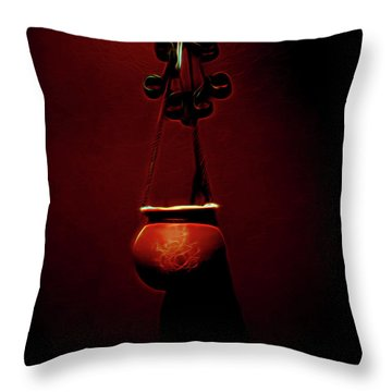 Censor Throw Pillow by William Horden