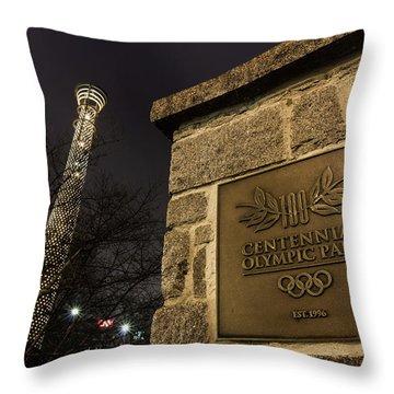Centennial Park 1 Throw Pillow