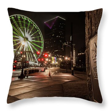 Centennial Park 2 Throw Pillow