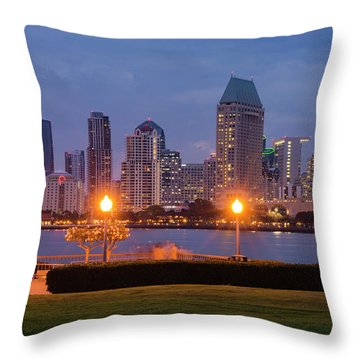 Throw Pillow featuring the photograph Centennial Sight by Dan McGeorge
