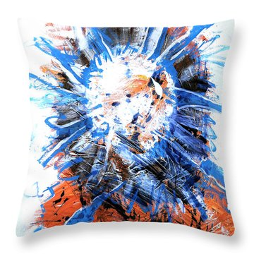 Center Of Everything Throw Pillow