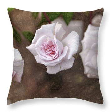 Center Of Hope Throw Pillow by Gina Savage