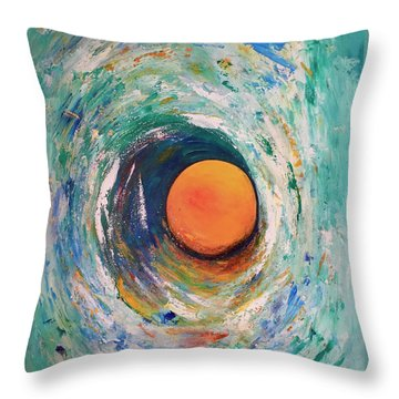 Center Of The Universe... Throw Pillow