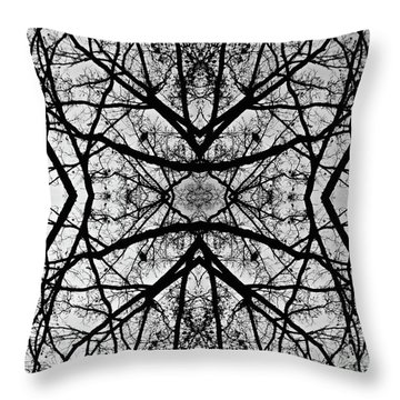 Centering Solitude Throw Pillow
