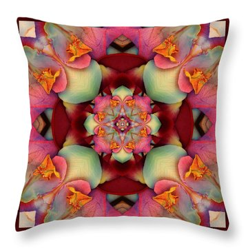 Throw Pillow featuring the photograph Centerpeace by Bell And Todd