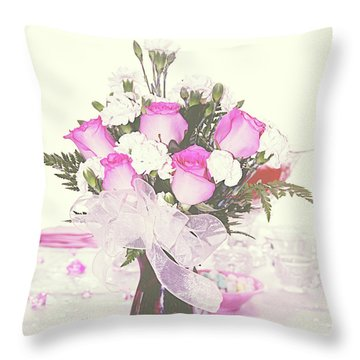 Centerpiece Throw Pillow by Inspirational Photo Creations Audrey Woods