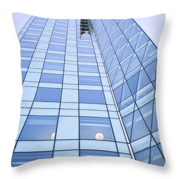 Central City Throw Pillow