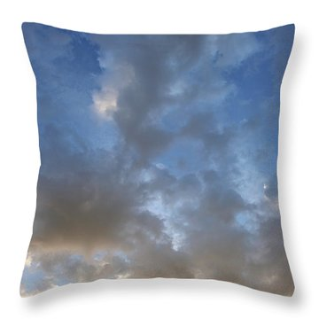 Throw Pillow featuring the photograph Central Coast Clouds 1 by Michael Rock