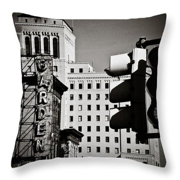 Central Northside Throw Pillow by Jessica Brawley