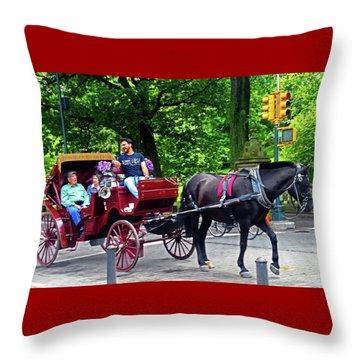Central Park 5 Throw Pillow