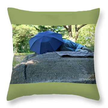 Central Park Beauty Rest Throw Pillow
