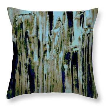 Throw Pillow featuring the painting Central Park by Bill OConnor
