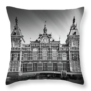 Central Station Throw Pillow