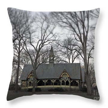 Centrally Located Throw Pillow