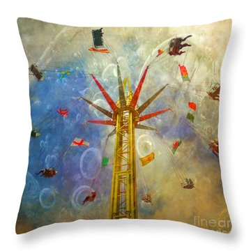 Centre Of The Universe Throw Pillow