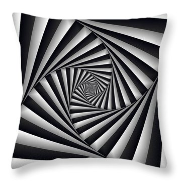 Centrolinear 2 Throw Pillow
