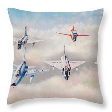 Century Series Fantasy Formation II Throw Pillow