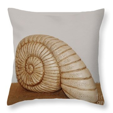 Ceramics Throw Pillow