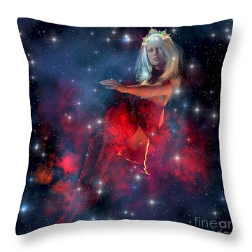 Cerces Throw Pillow by Corey Ford