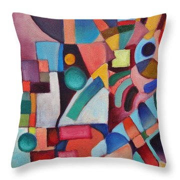 Cerebral Decor # 3 Throw Pillow