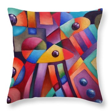 Cerebral Decor # 6 Throw Pillow