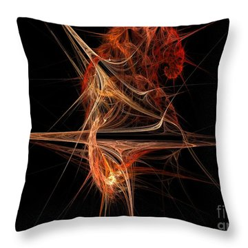 Cerebral Hemisphere Throw Pillow