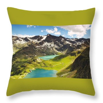 Ceresole Reale Throw Pillow
