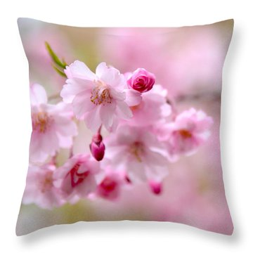 Cerise  Throw Pillow